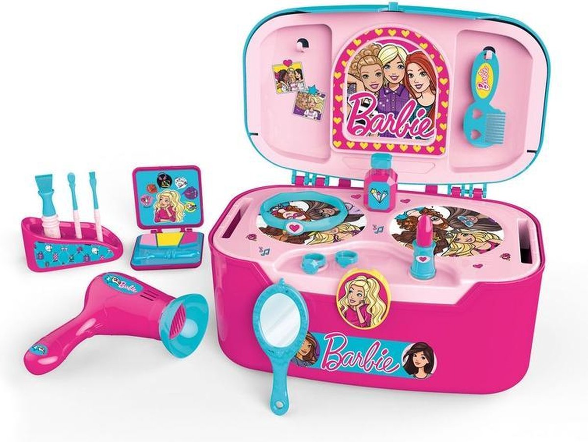 Barbie 2in1 Beauty Case Set