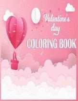 Valentine's Day Coloring Book: Romantic Valentine's Day Coloring Book