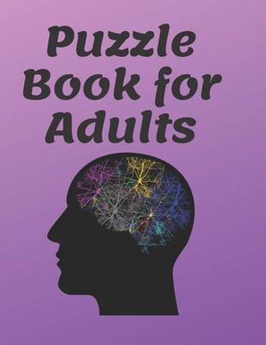 Puzzle Book for Adults