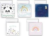Geboortekaartje - felicitatiekaarten - geboorte - jongen - meisje