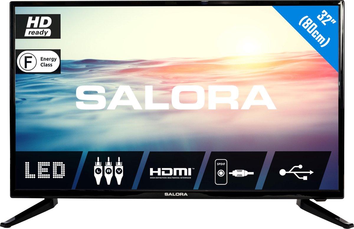 Salora 32LED1600 - Televisie - LED - HD - 32 Inch - HDMI - USB - 12 Volt