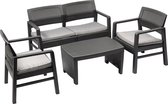 MaxxGarden Rattan loungeset - 4 persoons zithoek - wicker tuinset