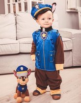 Paw Patrol Chase kostuum verkleedpak (4-delig) - maat 110/116 - (S) 5-6 jaar