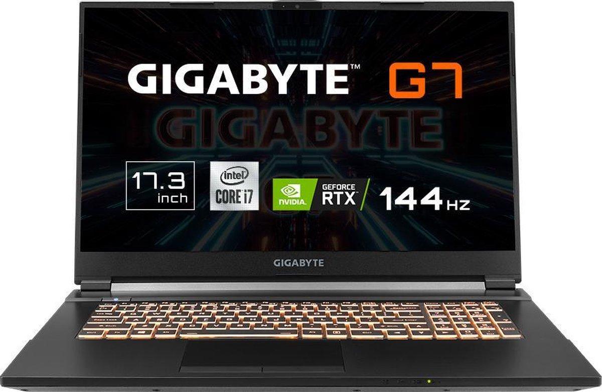 "Gigabyte G7 KC - Gaming Laptop - NVIDIA GeForce RTX 3060 6 GB - 17.3"" 144Hz FHD - Intel Core i7-10870H - 16 GB RAM - 512 GB SSD PCIe NVMe - Windows 10 Home"
