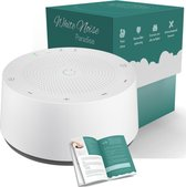 Numsy® Paradise White Noise Machine Baby - Slaaptrainer - Witte Ruis Baby - Witte Ruis Machine - Baby Hartslag - Slaaphulp Baby
