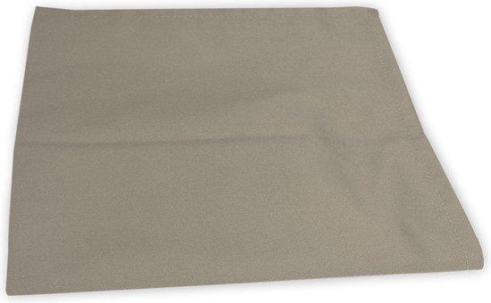 I2T Theedoeken 50x70 cm - Set van 10 - Taupe - 210 gr/m²