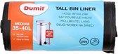 3x Afvalzak Hoge Pedaalemmer 35-40 Liter   Ook geschikt voor 30 Liter vuilnisbakken