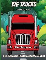 Big Trucks Coloring Book