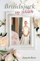 Boek cover Bruidsjurk op zolder van Janny den Besten (Onbekend)