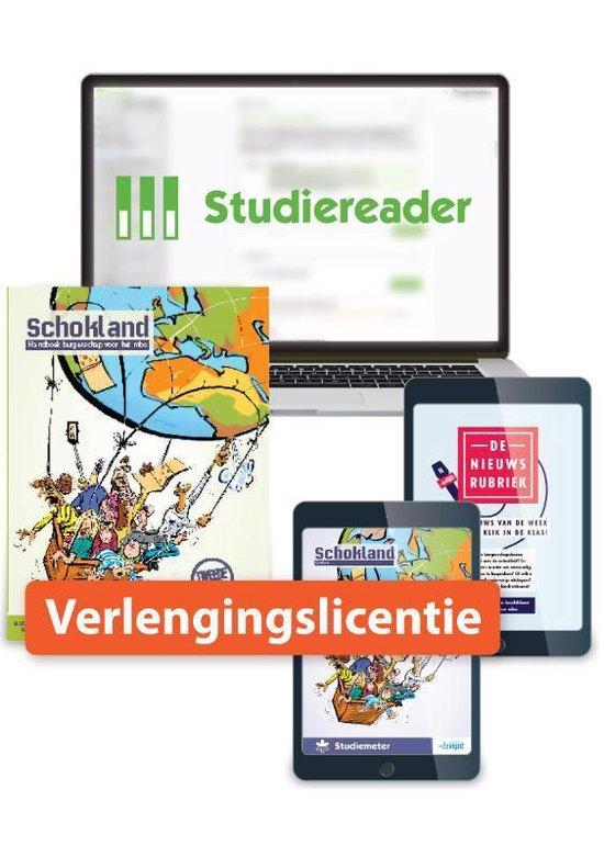 Boek cover Schokland  -   Verlengingslicentie Studiereader Schokland 12M van Marjan Dorresteijn (Onbekend)