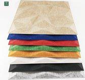 Akoestisch paneel | 3D absorptie wand | Oranje | 50 x 50 cm | polyester akoestische panelen