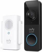 Eufy Video Deurbel Slim - Batterij-gevoed - 1080P - Inclusief draadloze gong en 16 GB SD-kaart