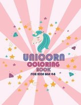 Unicorn Coloring Book: For Kids Ages 4-8