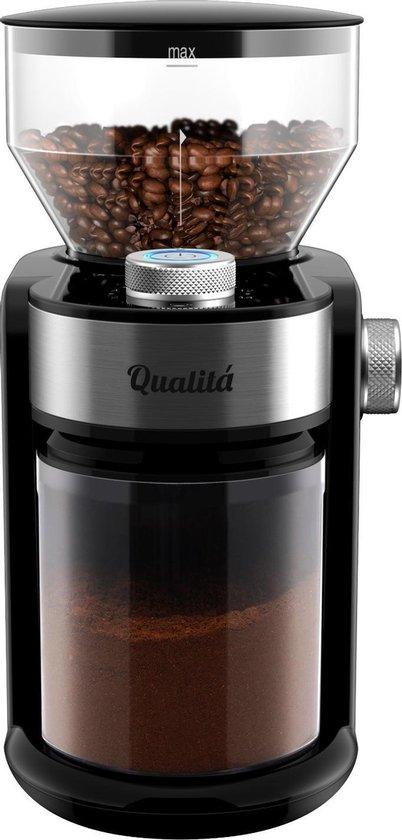 Qualitá Elektrische Koffiemolen – Coffee grinder – Koffie maler – Coffee machine – Koffiemachine – Bonenmaler Electrisch