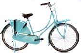 Omafiets 28 inch - licht blauw - Damesfiets - Transportfiets