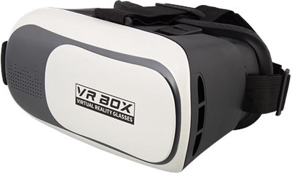 LUXE Virtual reality bril  -  VR bril  - VR BOX  -  met GRATIS app -  universeel gebruik  -  verstel