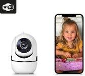 Loflie Premium Babyfoon - Met IOS/Android/Windows app - 1080P HD Wifi camera - camerabeveiliging - Inclusief Nederlandstalige handleiding - Wit
