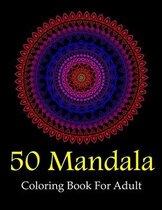 50 Mandala Coloring Book for Adult