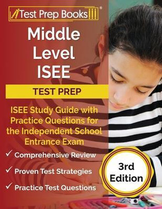 Middle Level ISEE Test Prep
