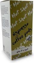 Xprso Espresso pods - ESE koffiepads - servings   Hot Shot - dark roast - 18 stuks