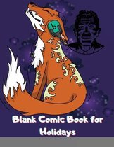 Blank Comic Book for Holidays