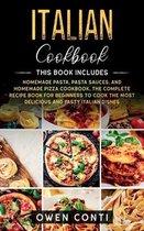 Italian Cookbook: This Book Includes
