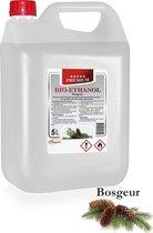 Premium -Bio-ethanol met Bosgeur - Bioethanol - 100% biobrandstof - 5 liter (incl. dopkraan)