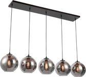 5 bol hang lamp smoke glas