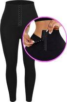 High waist sport legging - met corset waist trainer - tummy control - sport legging - yoga