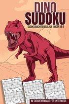 Dino Sudoku - Sudoku Buch für schlaue Kinder ab 8: im Taschenformat für unterwegs, 200 Sudokus zum Rätseln