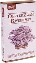 Oesterzwam Starterset – Roze oesterzwam - Maak je eigen growkit - Kweek paddestoelen op je eigen koffiedik - Duurzaam - Kado