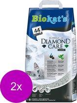 Biokat's Diamond Care Classic Aloe Vera Geur - Kattenbakvulling - 2 x 8 l