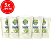 Dettol Handzeep No Touch Navulling - Antibacterieel - Aloe Vera - 250 ml x5