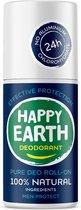 Happy Earth Pure Deodorant Roll-On Men Protect 75 ml - 100% natuurlijk