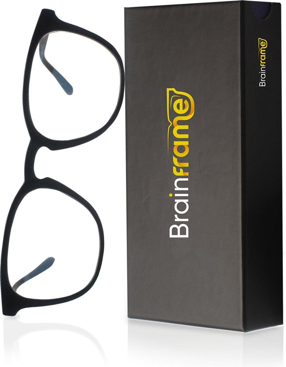 Brainframe  LUX Blauw Licht Bril Met Filter - Computerbril Zonder Sterkte - Anti Blue Light Blocking