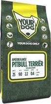 Volwassen 3 kg Yourdog amerikaanse pitbull terriËr hondenvoer