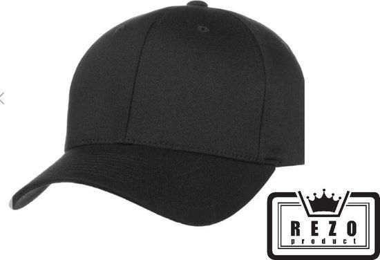 Zwarte pet - Zwarte cap - Baseball Cap - Sportcap - One size – Zwart