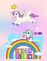 Unicorn Coloring for Kids: unicorn coloring for kids unicorn fans Unicorn coloring book for Girls, boys, Gift for Kids, Gift for Unicorn Lovers
