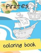 Pirates Coloring Book