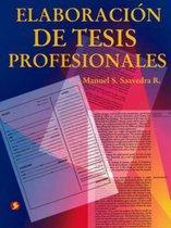 Elaboracion de tesis profesionales