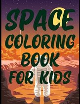 Space Coloring Book For Kids