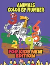 Animals Color by Number for Kids new edition