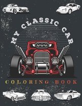 My Classic Car Coloring Book