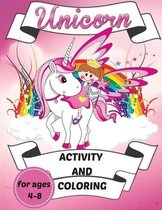 Unicorn Activity and Coloring