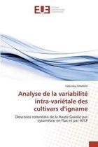 Analyse de la variabilite intra-varietale des cultivars d'igname