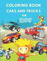 Coloring Book Cars and Trucks for Kids