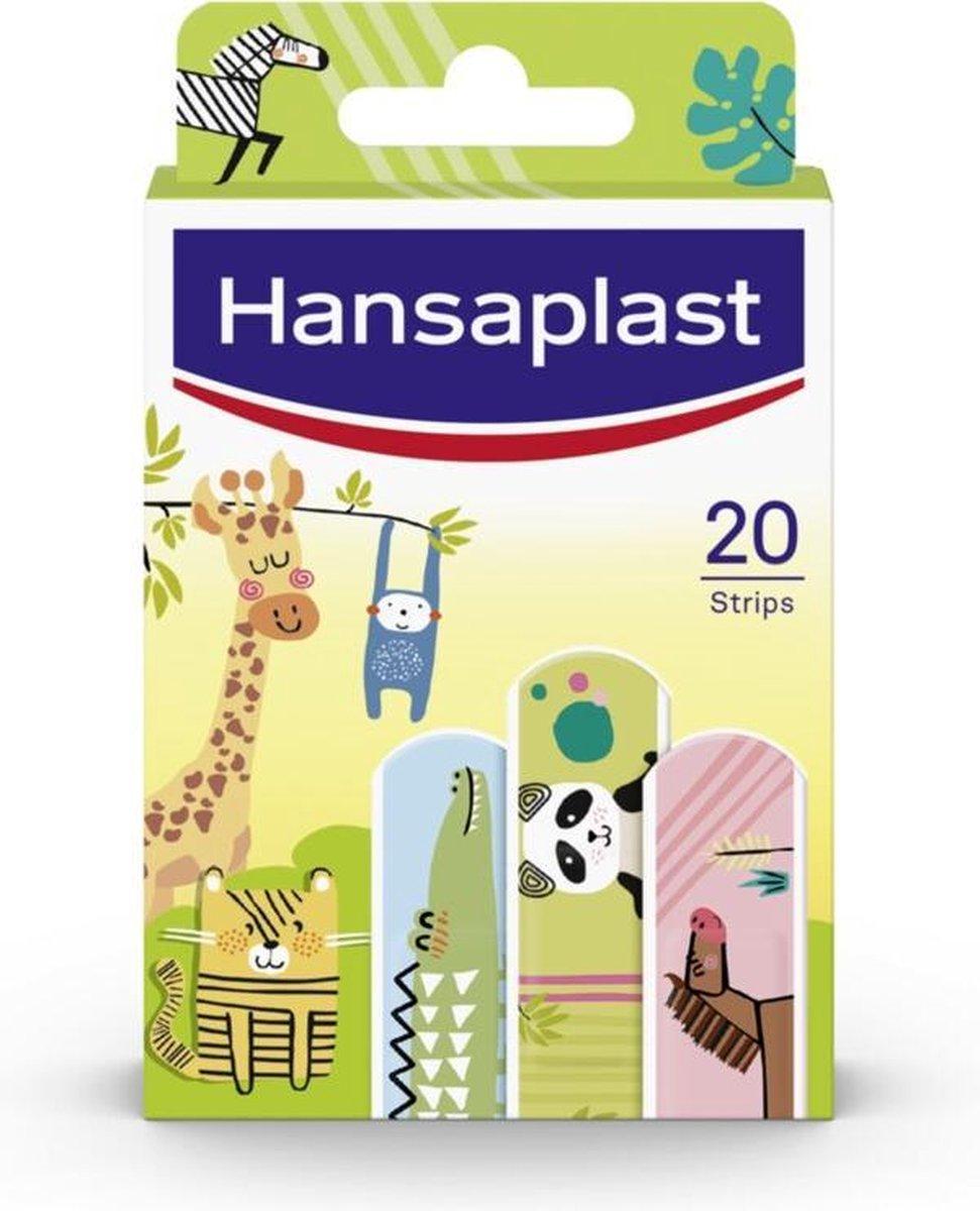 Hansaplast Dierenpleisters - Wondverzorging kinderen - 20 stuks