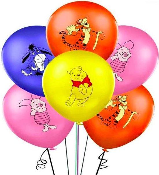 ProductGoods - 10x Winnie de poeh Ballonnen Verjaardag - Verjaardag Kinderen - Ballonnen - Ballonnen Verjaardag - Winnie de poeh - Kinderfeestje