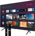 """Strong SRT 32HC5433 tv 81,3 cm (32"""") WXGA Smart TV Wi-Fi Zwart, Zilver"""