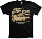 Breaking Bad Heren Tshirt -S- Heisenberg's Desert Tours Zwart